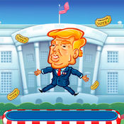 fun games Trumpoline
