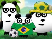 بازی سه پاندا در برزیل