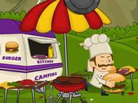 بازی پرتاب همبرگر