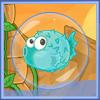 بازی ماهی حبابی