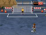 بازی فوتبال خیابانی