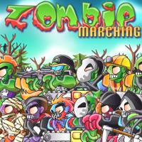 بازی راهپیمایی زامبی ها