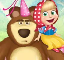 بازی ماشا و خرس