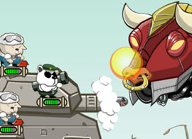 بازی آنلاین جنگ حیوانات فلزی