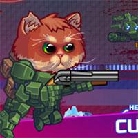 بازی تیراندازی آنلاین گربه زرهی