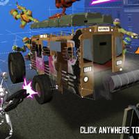 بازی لاک پشت های نینجا ساخت ماشین نبرد