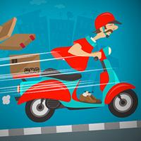بازی موتورسواری پیک دیوانه
