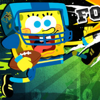Cartoon Games spongebob Hero Football Stars