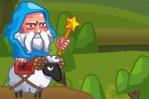 بازی دیوار جادوگر