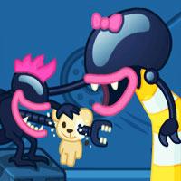 بازی فکری مهدکودک موجودات بیگانه