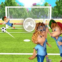 بازی آلوین و سنجاب های فوتبالیست