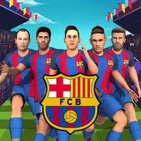 بازی دونده تیم بارسلونا