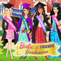بازی دخترانه فارغ التحصیلی باربی و دوستان