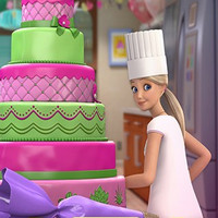بازی دخترانه باربی کیک پزی