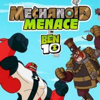 بازی بن تن تهدید مکانیو Ben 10: Mechanoid Menace
