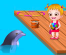 بازی  هازل در تور دلفین