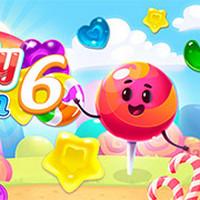 بازی آنلاین جورچین Candy Rain 6