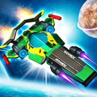 بازی انلاین مسابقه نبرد سایبر Cyber Racer Battles