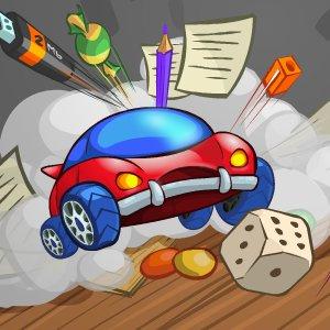 بازی مسابقه ای ماشین اسباب بازی کامپیوتر موبایل