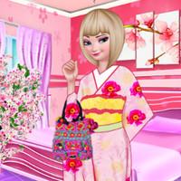 بازی دخترانه السا دختر چینی