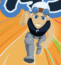 بازی آنلاین دونده سریع