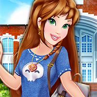 بازی دخترانه آنلاین اولین روز مدرسه