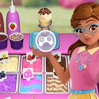 بازی دخترانه بستنی فروشی