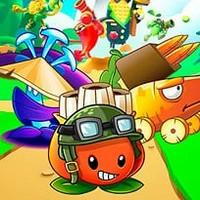 بازی دفاع از قلعه میوه ها وهیولاها Fruit Legions: Monsters Siege