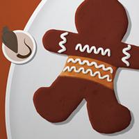 بازی طراحی شیرینی زنجبیلی