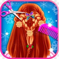 بازی دخترانه بافت مو