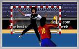 بازی ورزشی هندبال