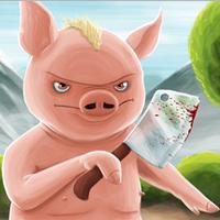 بازی مبارزه ای خوک خشمگین