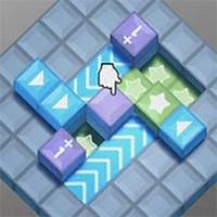بازی پازل ایزومتریک مکعب های ستاره دار IsoCubes