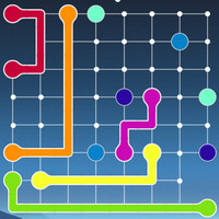 بازی فکری نقطه و خط lines frvr