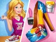 بازی دخترانه کفش سیندرلا