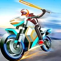بازی مسابقات موتورسواری خیابانی Motor Rush