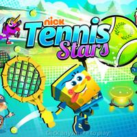 بازی باب اسفنجی مسابقات تنیس