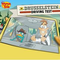 بازی کارتونی آزمون رانندگی