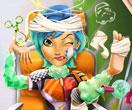 بازی دخترانه تصادف سابین