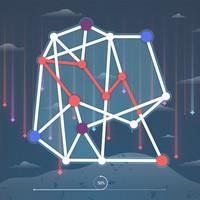 بازی فکری اتصال خطوط
