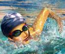 بازی سه بعدی شنا