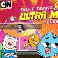 بازی آنلاین تنیس روی میز Ultra Mega Torunament