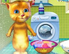 بازی دخترانه گربه سخنگو