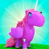 بازی دخترانه پادشاهی تک شاخ باربی unicorn kingdom