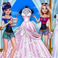 بازی دخترانه مزون لباس عروس جدید