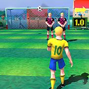 بازی فوتبال 10 شوت طلایی