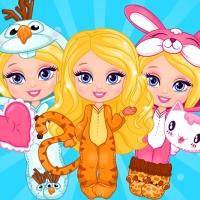 بازی دخترانه لباس سارا کوچولو