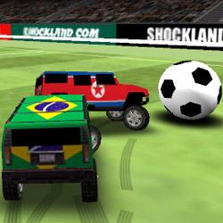 بازی فوتبال با ماشین