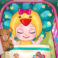 بازی دخترانه حمام کودک