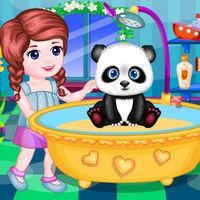 بازی کودکانه دخترانه رایگان پاندای من